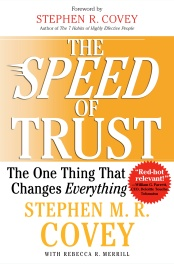Speed of Trust Book Cover
