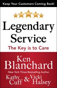 Legendary Service Book Cover